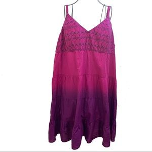 Fashion Bug Dresses - Fashion Bug Sleeveless Dress Embroider Size 3x